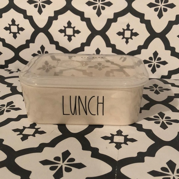Rae Dunn LUNCH Bowl with Lid